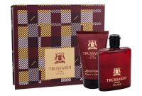 Trussardi Uomo The Red, zestaw: Edt 50ml + Żel pod prysznic 100ml (M)