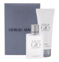 Giorgio Armani Acqua di Gio Pour Homme, zestaw: Edt 50ml + 75ml Balsam po goleniu (M)