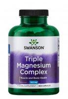 Swanson, triple magnesium complex, 300 kapsułek