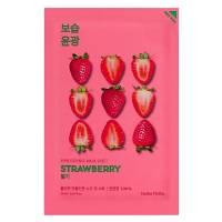 Holika Holika Pure Essence - Strawberry, maseczka na płachcie