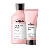 Loreal Vitamino Color, zestaw do włosów farbowanych, 300ml + 200ml