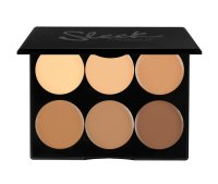 Sleek Makeup Cream Contour Kit, kremowa paleta do konturowania, Medium