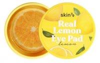 SKIN79 Real Lemon Eye Pad, cytrynowe płatki rozświetlające na oczy, 30szt.