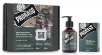 Proraso, zestaw: balsam + szampon do brody, Cypress&Vetyver, 200ml + 100ml