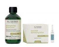Alter Ego Scalp Ritual, zestaw zagęszczający włosy, szampon 300ml + lotion 12x7ml