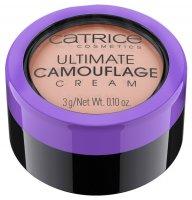 Catrice Ultimate Camouflage Cream, trwały, kremowy korektor, C Brightening Peach 100, 3g