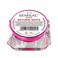 Semilac UV Gel Expert Natural White, żel do paznokci, 50ml
