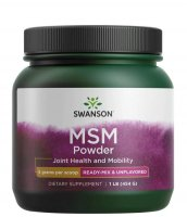 Swanson, MSM w proszku, 454g
