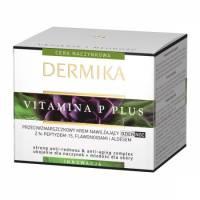 Dermika Vitamina P, przeciwzmarszczkowy krem do twarzy, na dzień i na noc, 50ml
