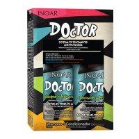 INOAR Doctor DUO PACK, szampon + odżywka, 2x250ml