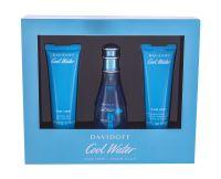 Davidoff Cool Water, zestaw: Edt 50ml + 50ml Balsam + 50ml Żel pod prysznic (W)