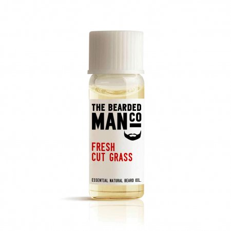 Bearded Man Fresh Cut Grass, olejek do brody Świeżo Skoszona Trawa, 2ml