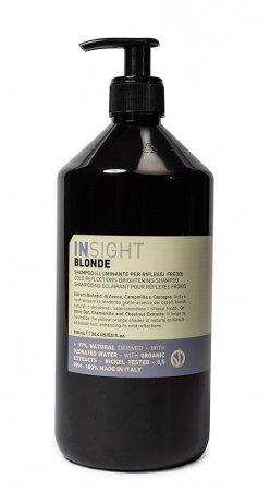 InSight Blonde, rozświetlający szampon do włosów blond, 900ml