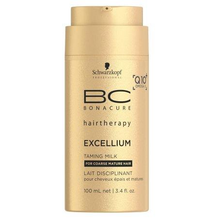 Schwarzkopf BC Excellium Q10, mleczko do włosów puszących się, 100ml