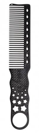 Y.S. Park, grzebień do strzyżenia męskich włosów, model 280, czarny