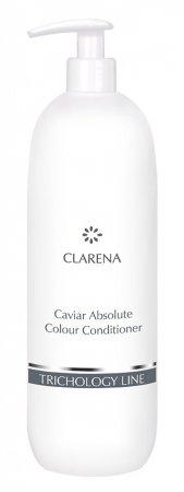 Clarena Trichology Line, odżywka do włosów farbowanych z kawiorem, 1000ml