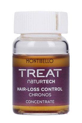 Montibello Treat Naturtech, koncentrat przeciw wypadaniu włosów Hair-Loss Chronos, 10x7ml