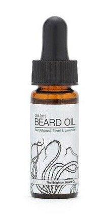 Brighton Beard, olejek do brody Drzewo sandałowe, Elemi i Lawenda, 10ml