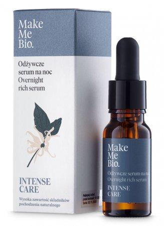Make Me Bio Intense Care, odżywcze serum do twarzy na noc, 15ml