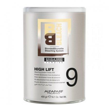 Alfaparf BB, puder rozjaśniający do 9 tonów, High Lift, 400g