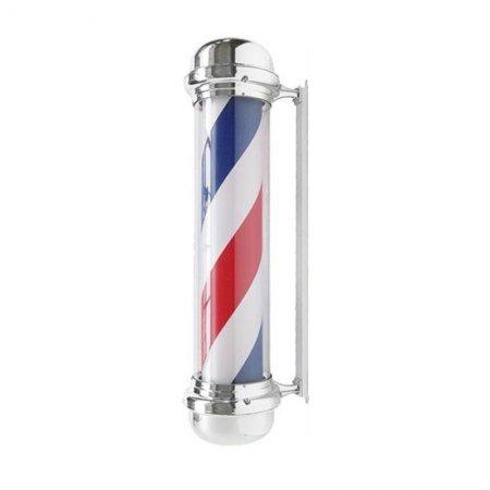 Słupek barberski, plafon podświetlany Activeshop Barber Shop BB02, duży