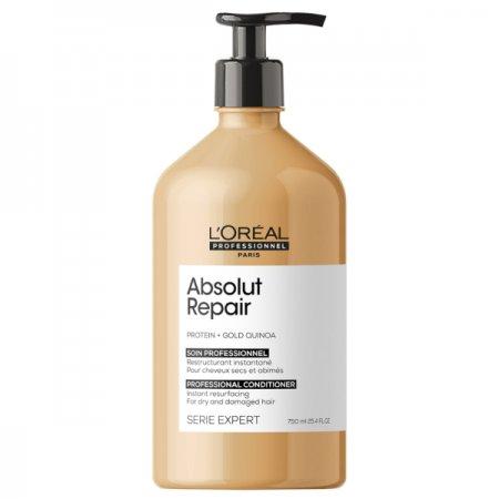 Loreal Absolut Repair, odżywka regenerująca włosy uwrażliwione, 750ml