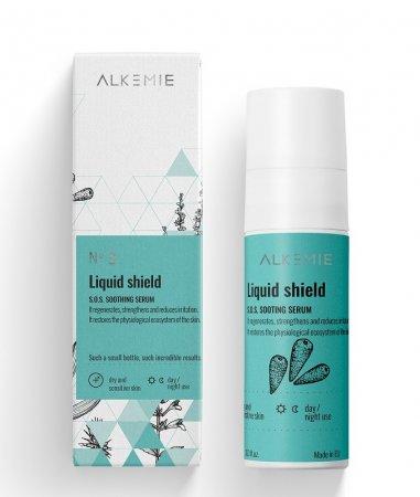 Alkemie Liquid shield, SOS serum wyciszające, 30ml