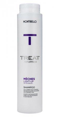 Montibello Treat Naturtech, szampon do włosów po dekoloryzacji Mèches Light-up, 300 ml