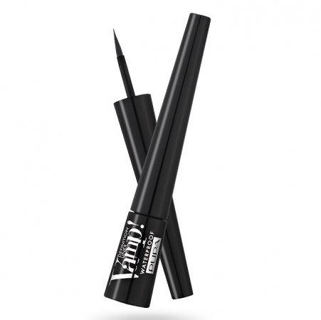 Pupa Vamp! Definition Liner, wodoodporny eyeliner, Glossy Black