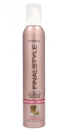 Montibello Finastyle Colour, koloryzująca pianka do włosów, naturalny blond, 320ml