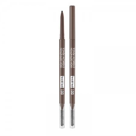 PUPA BrowMania, High Definition Eyebrow Pencil, precyzyjna kredka do brwi, 1,08g