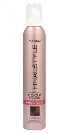 Montibello Finastyle Colour, koloryzująca pianka do włosów, kasztan, 320ml