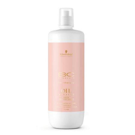Schwarzkopf BC Oil Miracle Rose, szampon pielęgnacyjny do włosów i skóry głowy, 1000ml