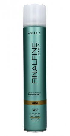 Montibello Finalfine Ultimate, lakier do włosów Medium, 500ml