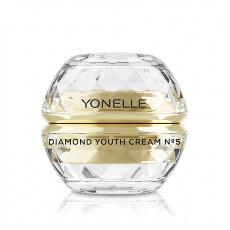 Yonelle Diamond, diamentowy krem młodości No5 na twarz i usta, 50ml