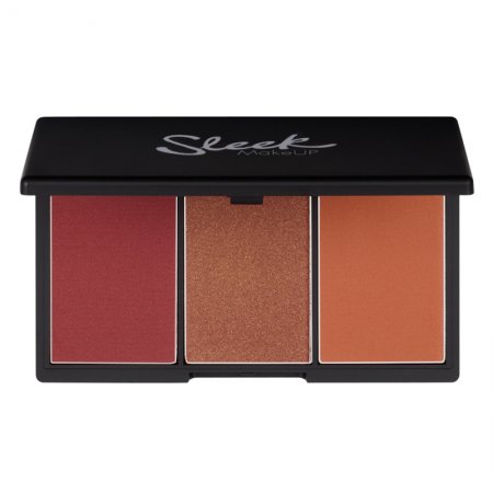 Sleek Makeup, paleta róży do policzków, Sugar