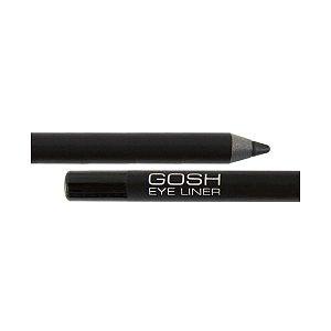 Gosh Velvet Touch Eye Liner, wodoodporna kredka do oczu, czarna, 1.2g