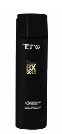Tahe Magic Bx Gold, oczyszczająco-nawilżający szampon do zabiegu botoxu, 300 ml