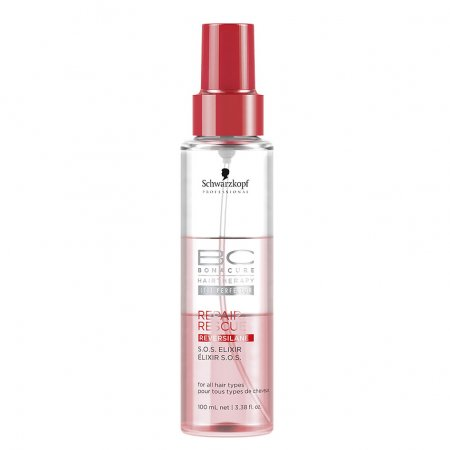 Schwarzkopf BC Repair Rescue, S.O.S Elixir, maska do spłukiwania w sprayu, 100ml