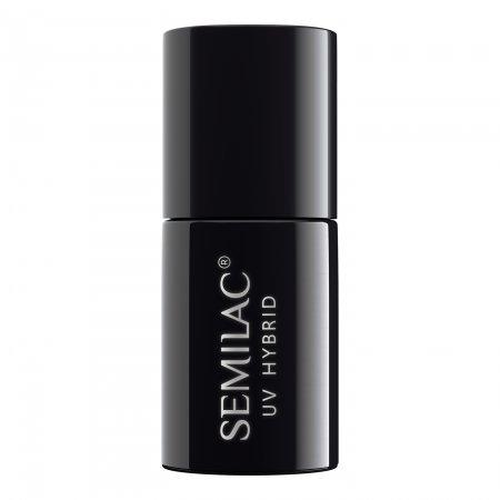 Semilac Shimmer, lakier hybrydowy z efektem pyłku, 7ml