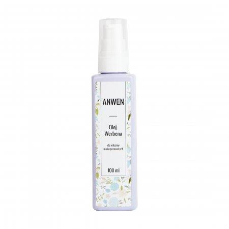 Anwen, olej do włosów niskoporowatych, Werbena, 100ml