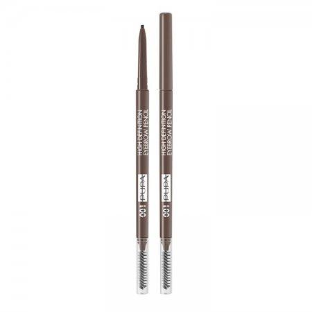 PUPA BrowMania, True Eyebrow Pencil, kredka do brwi, 0,09g