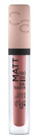 Catrice Matt Pro Ink Non-Transfer, pomadka w płynie, 010 Trust in me