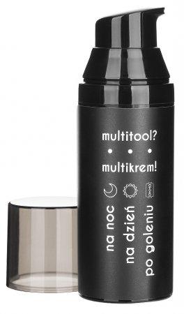 Cyrulicy, Multitool? Multikrem!, krem do twarzy na dzień, na noc, po goleniu, 50ml