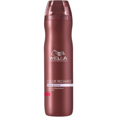 Wella Color Recharge, szampon do włosów zimny blond, 250ml