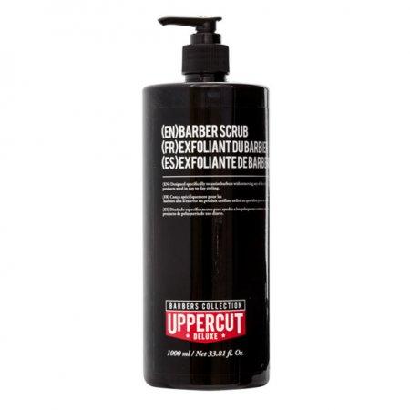 Uppercut Deluxe, Barber Scrub, szampon do usuwania pomad, 1000ml