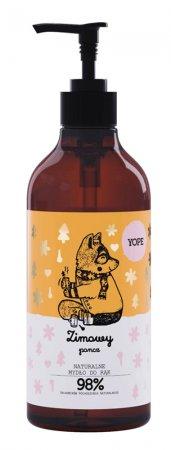 Yope, Zimowy Poncz, naturalne mydło w płynie, 500ml