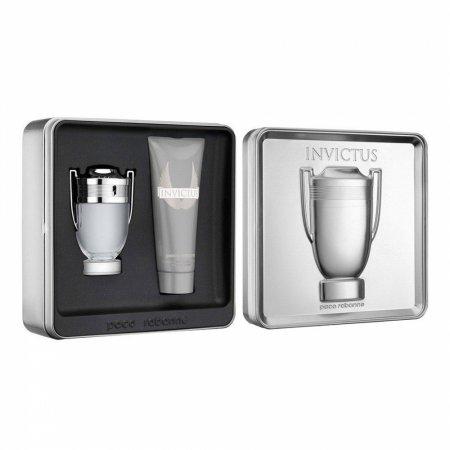 Paco Rabanne Invictus, zestaw perfum Edt 100ml + 100ml żel pod prysznic (M)