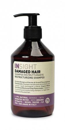 InSight Damaged Hair, szampon odbudowujący, 400ml