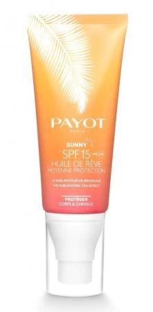Payot Sunny, ochronny olejek do ciała i włosów SPF15, 100ml